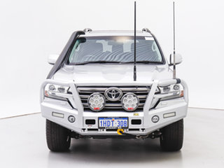 2018 Toyota Landcruiser VDJ200R LC200 VX (4x4) Silver 6 Speed Automatic Wagon.