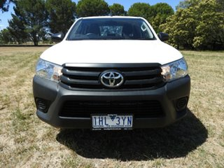Toyota Hilux WORKMATE White 5 Speed Manual Utility