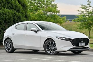 2019 Mazda 3 BP2H7A G20 SKYACTIV-Drive Evolve Snowflake White Pearl 6 Speed Sports Automatic.