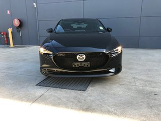 2020 Mazda 3 BP2HLA G25 SKYACTIV-Drive Evolve Jet Black 6 Speed Sports Automatic Hatchback.