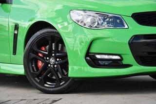 2017 Holden Commodore VF II MY17 SS V Sportwagon Redline Spitfire Green 6 Speed Sports Automatic