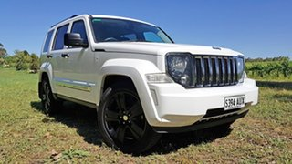 2012 Jeep Cherokee KK MY12 Limited Bright White 4 Speed Automatic Wagon.