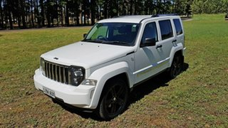 2012 Jeep Cherokee KK MY12 Limited Bright White 4 Speed Automatic Wagon