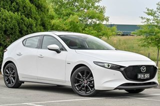 2020 Mazda 3 BP2SLA 100th Anniversary SKYACTIV-Drive Snowflake White Pearl 6 Speed Sports Automatic.