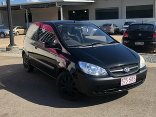 2009 Hyundai Getz TB MY09 S Black 5 Speed Manual Hatchback.