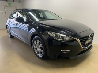 2013 Mazda 3 BM Neo Black 6 Speed Automatic Hatchback.