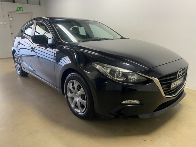Used Mazda 3 BM Neo Phillip, 2013 Mazda 3 BM Neo Black 6 Speed Automatic Hatchback