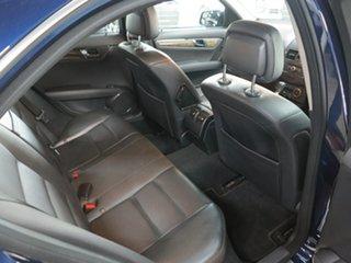 2008 Mercedes-Benz C-Class W204 C200 Kompressor Avantgarde Blue 5 Speed Sports Automatic Sedan