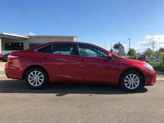 2015 Toyota Camry AVV50R Hybrid H Red 1 Speed Constant Variable Sedan