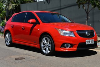 2014 Holden Cruze JH Series II MY14 SRi Z Series Red 6 Speed Sports Automatic Hatchback