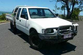 2001 Holden Rodeo TF MY02 LX Space Cab 4x2 White 4 Speed Automatic Utility.