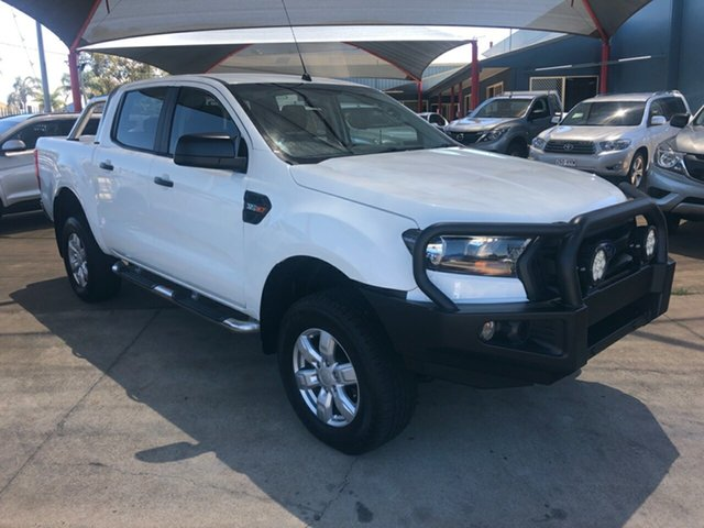 Used Ford Ranger PX MkII XL 3.2 (4x4) Toowoomba, 2016 Ford Ranger PX MkII XL 3.2 (4x4) White 6 Speed Automatic Crew Cab Utility