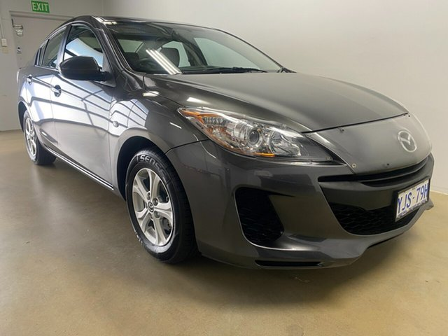Used Mazda 3 BL Series 2 MY13 Neo Phillip, 2013 Mazda 3 BL Series 2 MY13 Neo Grey 6 Speed Manual Sedan