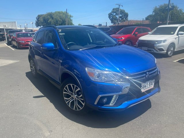 Used Mitsubishi ASX XC MY19 Exceed 2WD Hillcrest, 2018 Mitsubishi ASX XC MY19 Exceed 2WD Blue 1 Speed Constant Variable Wagon