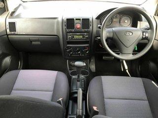 2009 Hyundai Getz TB MY09 S Green 4 Speed Automatic Hatchback