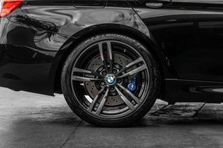 2015 BMW M3 F80 LCI M-DCT Black 7 Speed Sports Automatic Dual Clutch Sedan