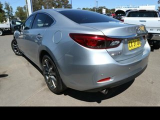 2016 Mazda 6 6C MY17 (gl) GT Silver 6 Speed Automatic Sedan.