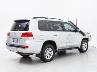 2018 Toyota Landcruiser VDJ200R LC200 VX (4x4) Silver 6 Speed Automatic Wagon