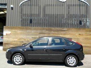 2007 Ford Focus LS CL Black 5 Speed Manual Hatchback.