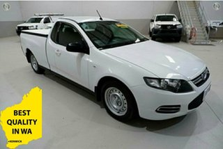 2013 Ford Falcon FG MkII EcoLPi Ute Super Cab White 6 Speed Sports Automatic Utility.