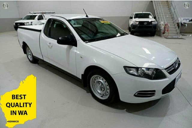 Used Ford Falcon FG MkII EcoLPi Ute Super Cab Kenwick, 2013 Ford Falcon FG MkII EcoLPi Ute Super Cab White 6 Speed Sports Automatic Utility