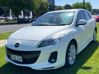 2013 Mazda 3 BL10L2 MY13 SP25 Activematic Crystal White Pearl 5 Speed Sports Automatic Hatchback.
