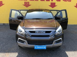 2017 Isuzu MU-X MY17 LS-M Rev-Tronic 4x2 Brown 6 Speed Sports Automatic Wagon.