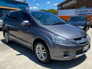 2010 Mitsubishi Grandis BA MY09 VR-X Grey 4 Speed Sports Automatic Wagon.