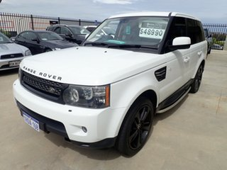 2012 Land Rover Range Rover Sport L320 12MY SDV6 Diamond Bright White 6 Speed Sports Automatic Wagon.