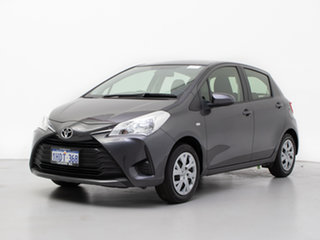 2017 Toyota Yaris NCP130R MY17 Ascent Grey 4 Speed Automatic Hatchback.