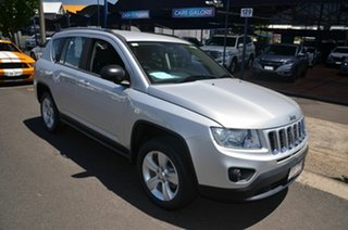 2012 Jeep Compass MK MY12 Limited (4x4) Silver Continuous Variable Wagon