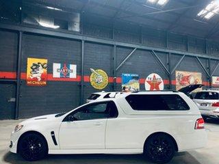 2016 Holden Ute VF II MY16 SS Ute Black White 6 Speed Manual Utility