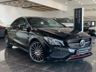 2016 Mercedes-Benz CLA-Class C117 807MY CLA250 DCT 4MATIC Sport Black 7 Speed.