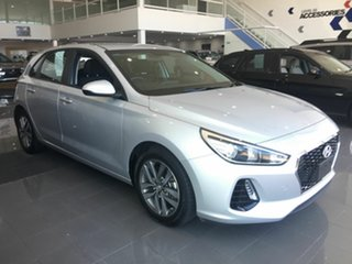 2019 Hyundai i30 PD2 MY20 Active Silver 6 Speed Sports Automatic Hatchback.