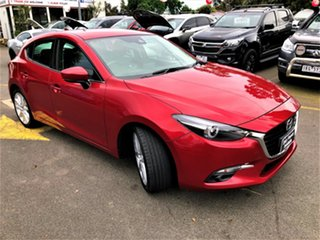 2017 Mazda 3 BN5438 SP25 SKYACTIV-Drive GT Red 6 Speed Sports Automatic Hatchback.