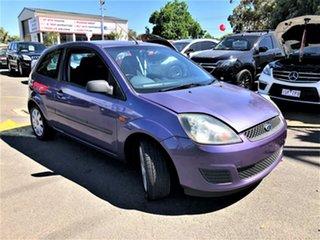 2006 Ford Fiesta WQ LX Purple 5 Speed Manual Hatchback.