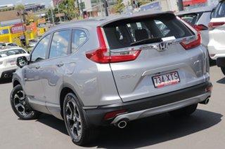 2017 Honda CR-V RW MY18 VTi-S 4WD Silver 1 Speed Constant Variable Wagon.