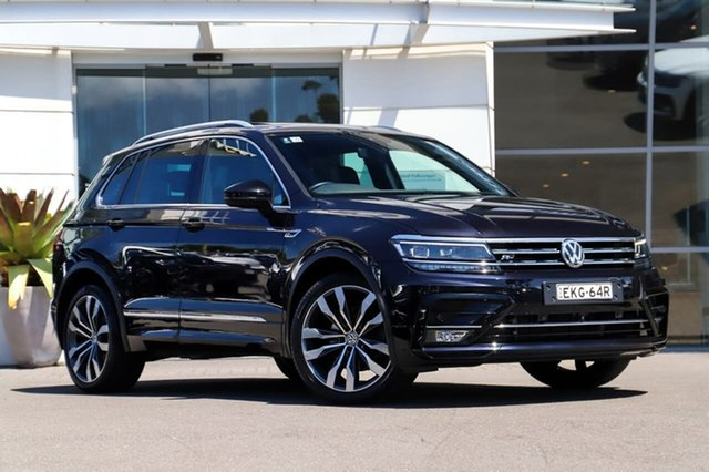 Used Volkswagen Tiguan 5N MY18 162TSI DSG 4MOTION Highline Sutherland, 2018 Volkswagen Tiguan 5N MY18 162TSI DSG 4MOTION Highline Deepl Black 7 Speed