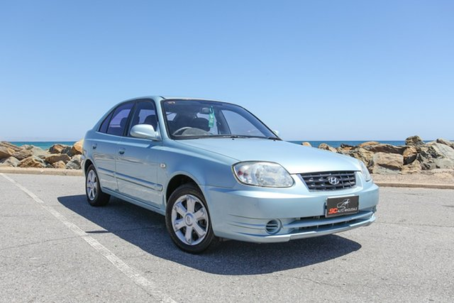 Used Hyundai Accent LC MY04 GL Lonsdale, 2004 Hyundai Accent LC MY04 GL Blue 5 Speed Manual Hatchback