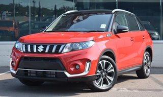 2020 Suzuki Vitara LY Series II Turbo 4WD Red/Black 6 Speed Sports Automatic Wagon.