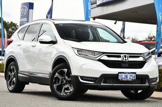2017 Honda CR-V RW MY18 VTi-LX 4WD White 1 Speed Constant Variable Wagon.