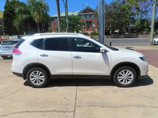 2015 Nissan X-Trail ST-L White Automatic Wagon.
