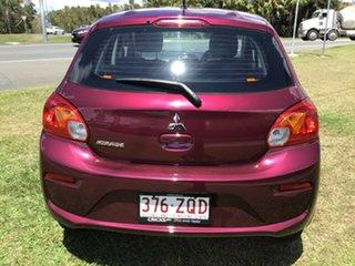 2019 Mitsubishi Mirage LA MY19 ES Wine Red 1 Speed Constant Variable Hatchback