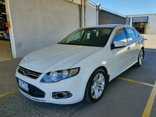 2011 Ford Falcon FG G6 White 6 Speed Sports Automatic Sedan