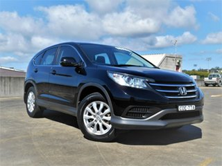 2013 Honda CR-V RM VTi Black 5 Speed Automatic Wagon.