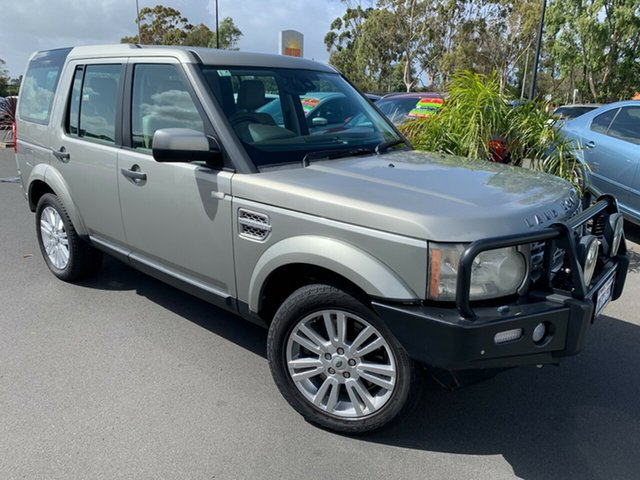Used Land Rover Discovery 4 Series 4 10MY TdV6 CommandShift HSE Bunbury, 2009 Land Rover Discovery 4 Series 4 10MY TdV6 CommandShift HSE Gold 6 Speed Sports Automatic Wagon