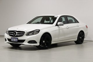 2014 Mercedes-Benz E200 212 MY14 White 7 Speed Automatic Sedan