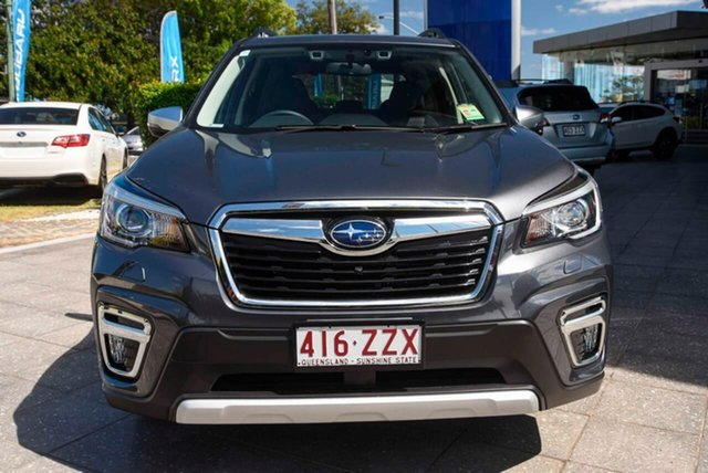 Demo Subaru Forester S5 MY20 Hybrid S CVT AWD Mount Gravatt, 2020 Subaru Forester S5 MY20 Hybrid S CVT AWD Magnetite Grey 7 Speed Constant Variable Wagon Hybrid