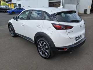 2018 Mazda CX-3 DK2W7A sTouring SKYACTIV-Drive FWD White 6 Speed Sports Automatic Wagon