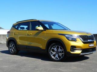 2019 Kia Seltos SP2 MY20 Sport 2WD Yellow 1 Speed Constant Variable Wagon.